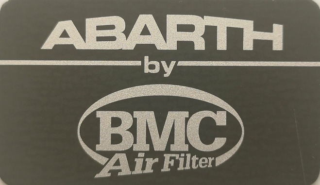 BMC air filter sticker