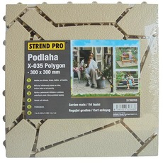 Podlaha SunnyGarden X-035 Polygon, 300x300 mm 6 ks